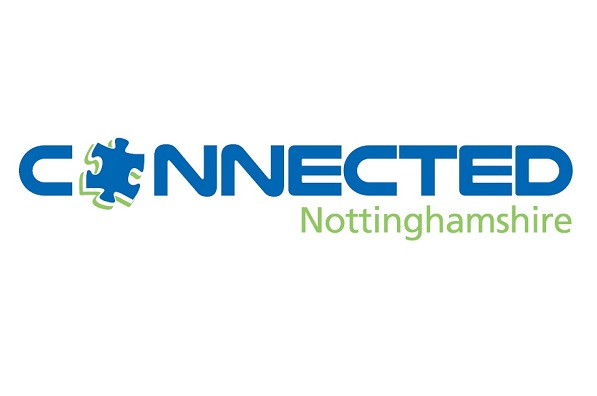 Connected Notts Logo White